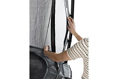 Trampoliini Elegant verkolla Deluxe 214x366 Liila