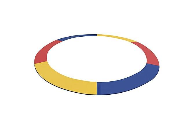 Turvapehmuste PVC monivärinen 3,66m pyöreälle trampoliinille - Monivärinen - Piha - Leikit & vapaa-aika - Trampoliinit