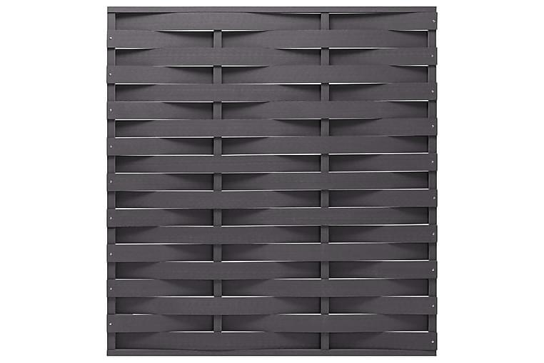 Aitapaneeli WPC 170x180 cm harmaa - Piha - Puutarhakoristeet & pihatarvikkeet - Aidat & portit