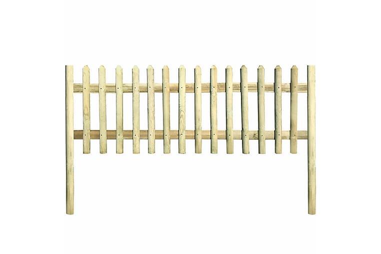 Säleaita kyllästetty mänty 5,1 m 130 cm 5/7cm - Piha - Puutarhakoristeet & pihatarvikkeet - Aidat & portit