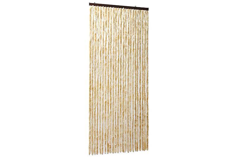 Hyönteisverho beige 100x220 cm Chenille - Beige - Piha - Puutarhakoristeet & pihatarvikkeet - Ikkunakalvot