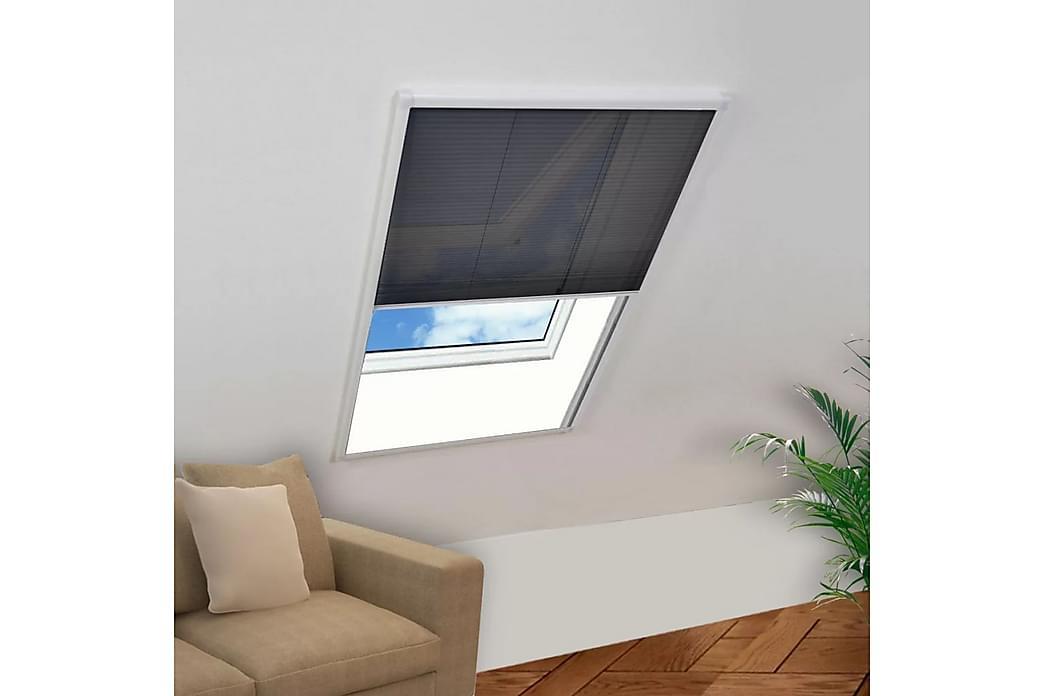 Laskostettu hyönteisverkko ikkunaan 80 x 160 cm - Valkoinen - Piha - Puutarhakoristeet & pihatarvikkeet - Hyttysverkot