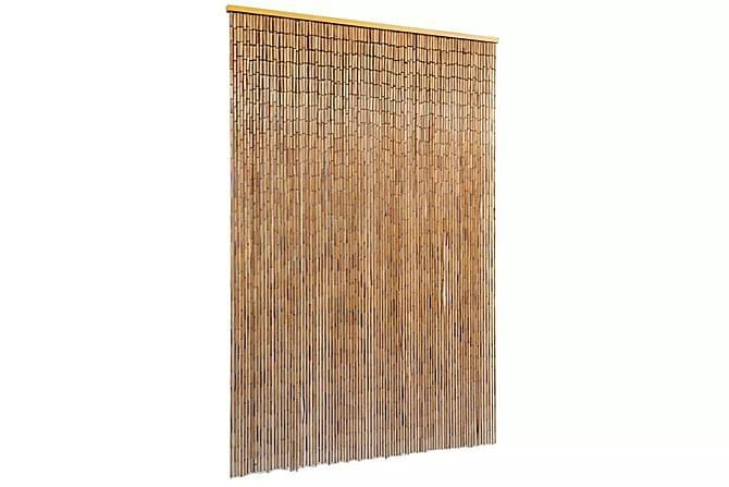 Oviverho bambu 90x200 cm - Ruskea - Piha - Puutarhakoristeet & pihatarvikkeet - Hyttysverkot