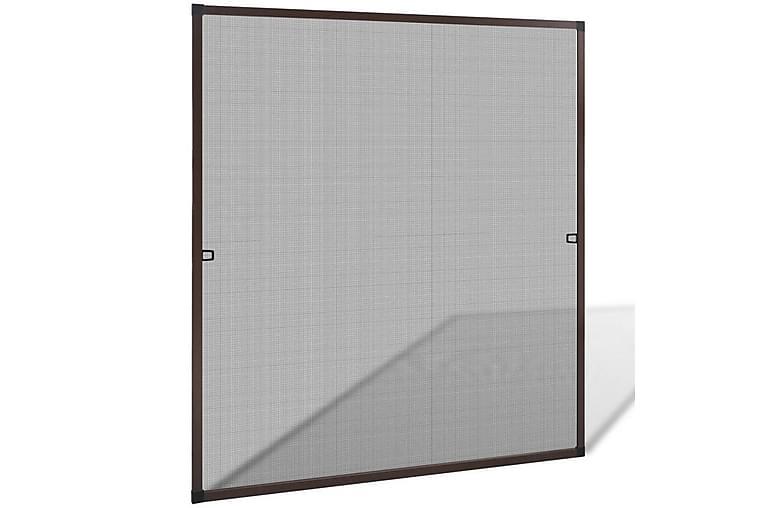 Ruskea Hyönteisverkko Ikkunaan 120 x 140 cm - Ruskea - Piha - Puutarhakoristeet & pihatarvikkeet - Hyttysverkot