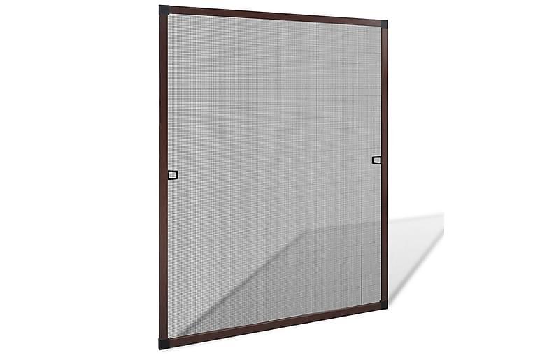Ruskea Hyönteisverkko Ikkunaan 80 x 100 cm - Ruskea - Piha - Puutarhakoristeet & pihatarvikkeet - Hyttysverkot