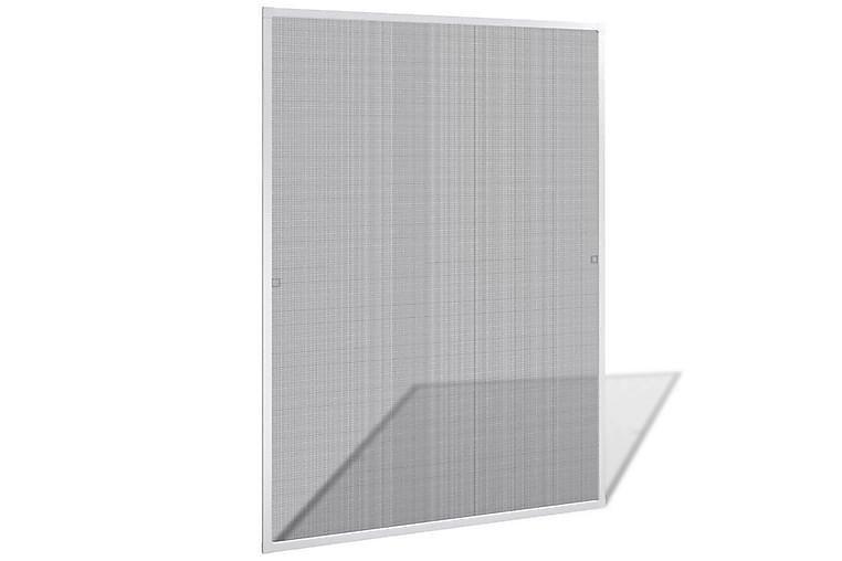 Valkoinen Hyönteisverkko Ikkunaan 120 x 140 cm - Valkoinen - Piha - Puutarhakoristeet & pihatarvikkeet - Hyttysverkot