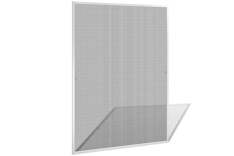 Valkoinen Hyönteisverkko Ikkunaan 130 x 150 cm - Valkoinen - Piha - Puutarhakoristeet & pihatarvikkeet - Hyttysverkot