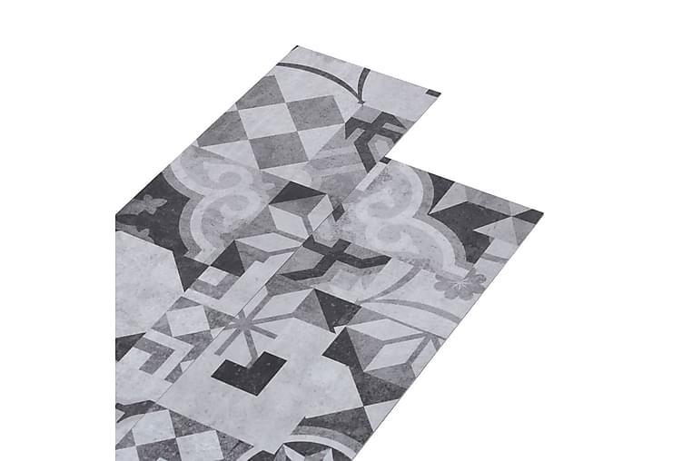 PVC-lattialankut 4,46m² 3mm harmaa kuvio - Piha - Puutarhakoristeet & pihatarvikkeet - Terassilaatat