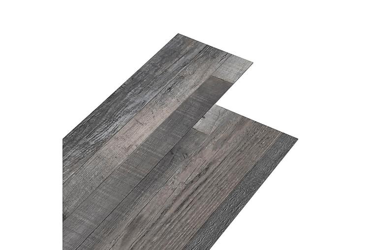 PVC-lattialankut 4,46m² 3mm teollinen puu - Piha - Puutarhakoristeet & pihatarvikkeet - Terassilaatat
