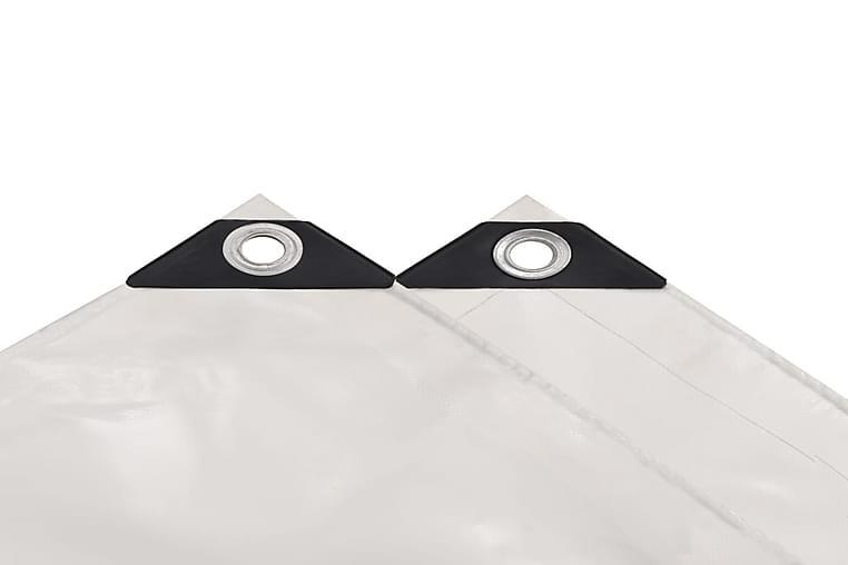 Pressu 650 g/m² 3x5 m valkoinen - Valkoinen - Piha - Ulkosäilytys - Pressut & peitteet