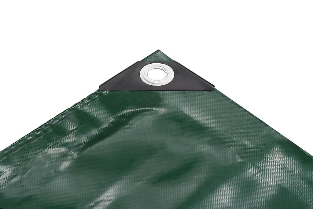 Pressu 650 g/m² 4x5 m vihreä - Vihreä - Piha - Ulkosäilytys - Pressut & peitteet
