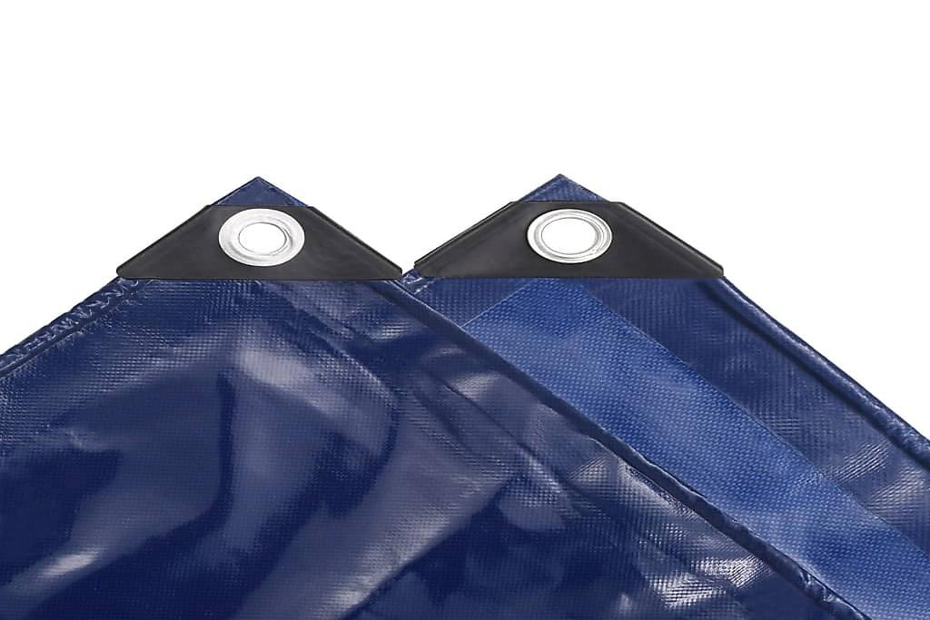 Pressu 650 g/m² 4x7 m sininen - Sininen - Piha - Ulkosäilytys - Pressut & peitteet