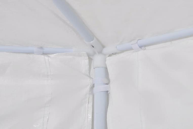 Juhlateltta 6 sivuseinällä 2x2 m valkoinen - Valkoinen - Piha - Ulkosäilytys - Varastoteltat