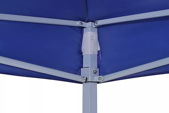 Kokoontaitettava juhlateltta 3x3 m sininen - Sininen - Piha - Ulkosäilytys - Varastoteltat
