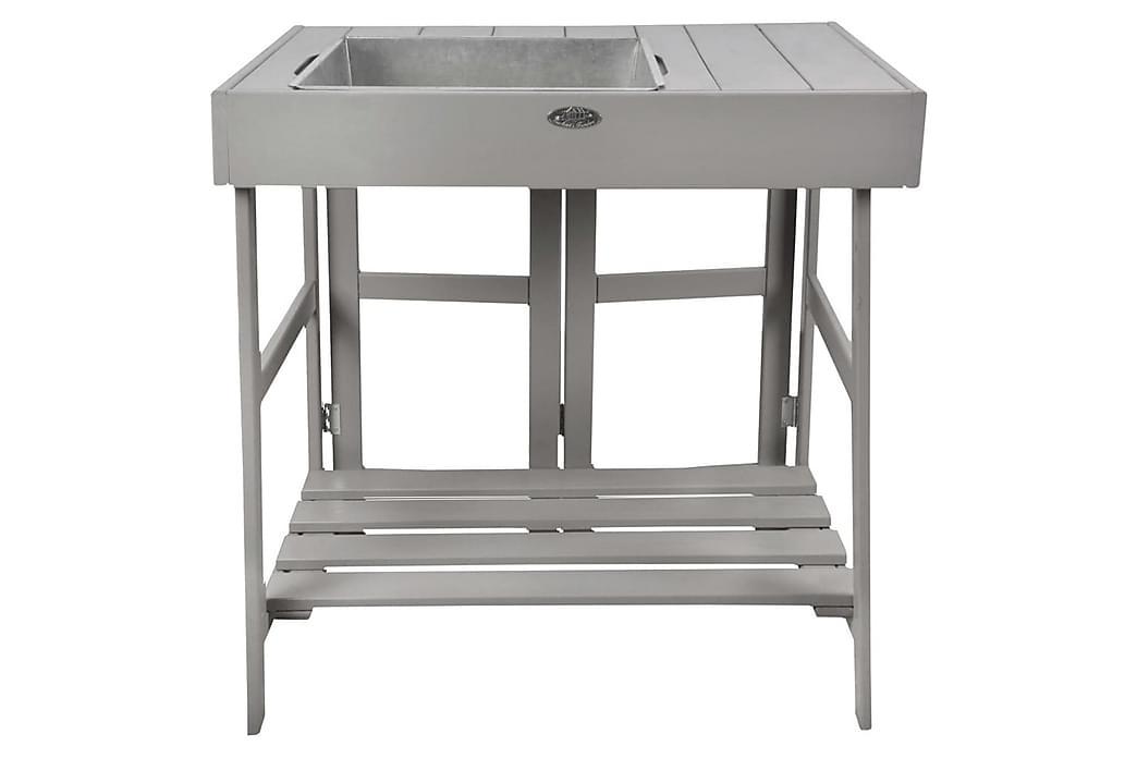 Esschert Design Istutuspöytä harmaa - Harmaa - Piha - Viljely & puutarhanhoito - Istutuspöydät