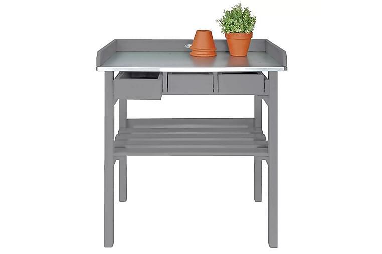 Esschert Design Puutarhan Työpöytä Harmaa CF29G - Harmaa - Piha - Viljely & puutarhanhoito - Istutuspöydät