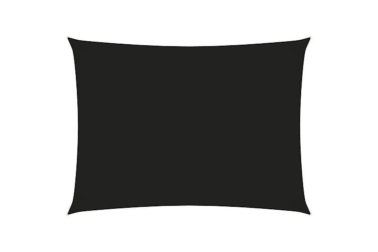Aurinkopurje Oxford-kangas suorakaide 2,5x4 m musta - Musta - Puutarhakalusteet - Aurinkosuojat - Aurinkopurjeet