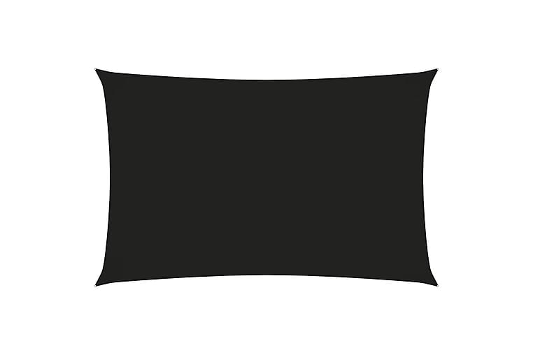 Aurinkopurje Oxford-kangas suorakaide 2x5 m musta - Musta - Puutarhakalusteet - Aurinkosuojat - Aurinkopurjeet