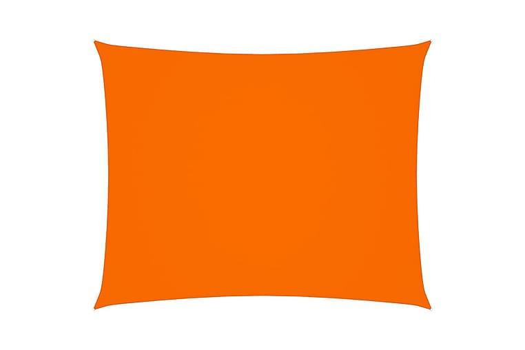 Aurinkopurje Oxford-kangas suorakaide 3x4 m oranssi - Oranssi - Puutarhakalusteet - Aurinkosuojat - Aurinkopurjeet