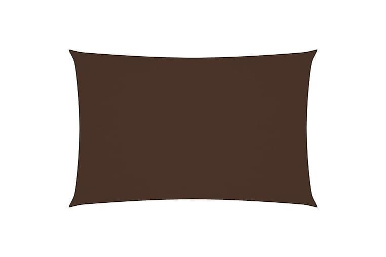 Aurinkopurje Oxford-kangas suorakaide 4x7 m ruskea - Ruskea - Puutarhakalusteet - Aurinkosuojat - Aurinkopurjeet