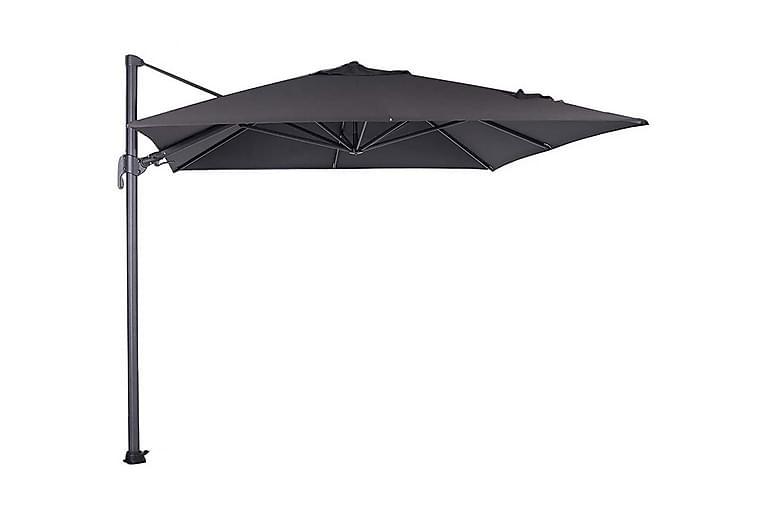 Aurinkovarjo Hawaii 250x250 cm Musta - Garden Impressions - Puutarhakalusteet - Aurinkosuojat - Aurinkovarjot