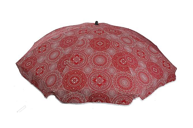 Aurinkovarjo Punainen - Puutarhakalusteet - Aurinkosuojat - Aurinkovarjot