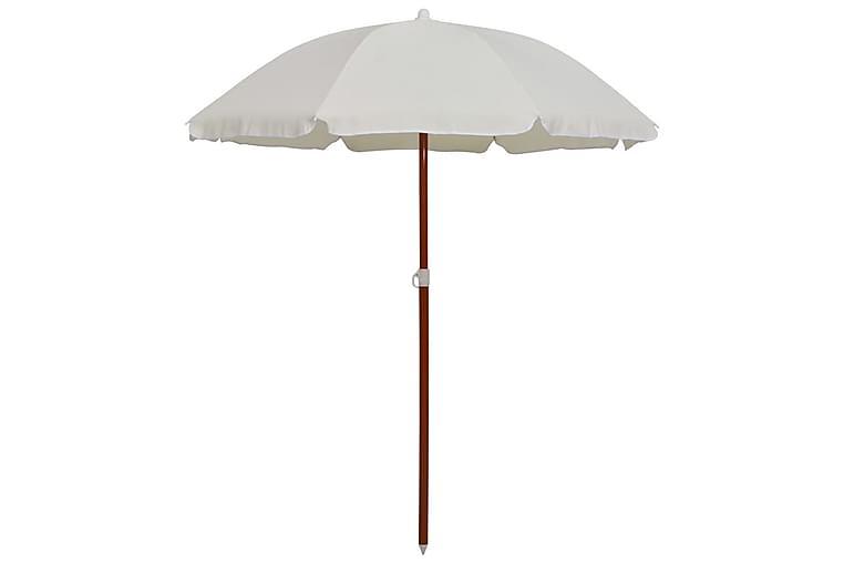 Aurinkovarjo terästanko 180 cm hiekka - Puutarhakalusteet - Aurinkosuojat - Aurinkovarjot