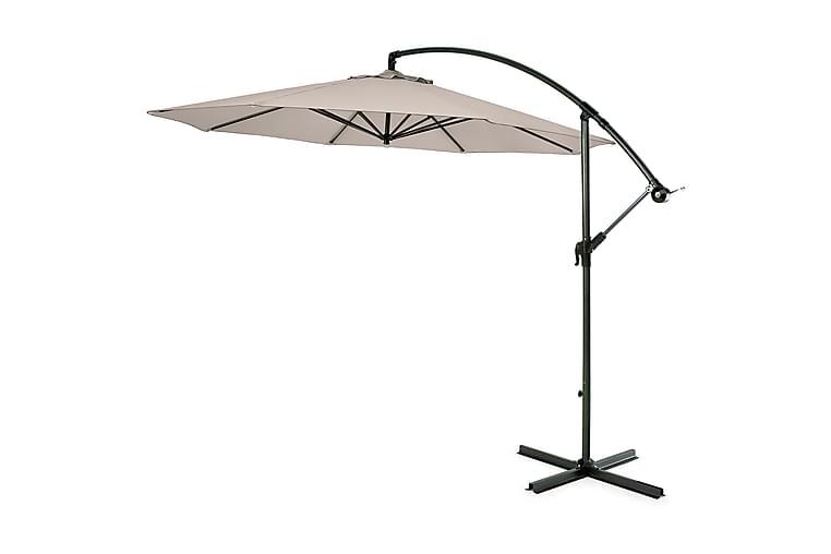 Hillerstorp Riippuva aurinkovarjo 300 cm - Beige - Puutarhakalusteet - Aurinkosuojat - Aurinkovarjot