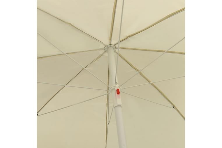 Rantavarjo hiekankeltainen 240 cm - Puutarhakalusteet - Aurinkosuojat - Aurinkovarjot
