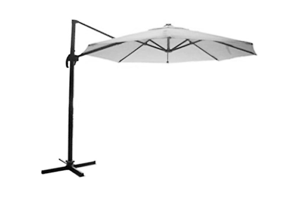 Tobago Aurinkovarjo 350 - Musta - Puutarhakalusteet - Aurinkosuojat - Aurinkovarjot