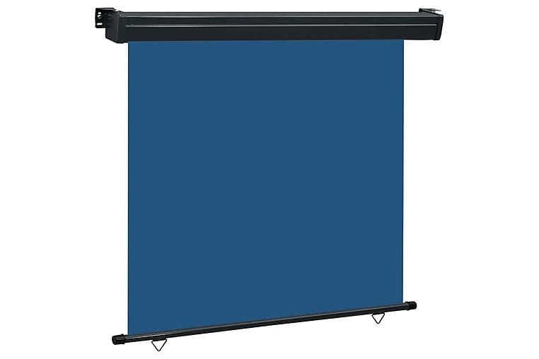 Parvekkeen sivumarkiisi 160x250 cm sininen - Sininen - Puutarhakalusteet - Aurinkosuojat - Markiisit
