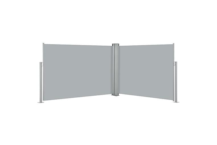 Sisäänvedettävä sivumarkiisi 120x1000 cm antrasiitti - Antrasiitti - Puutarhakalusteet - Aurinkosuojat - Markiisit