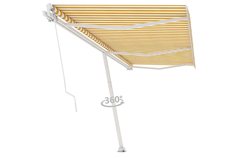 Vapaasti seisova sisäänkelattava markiisi 600x350 cm - Puutarhakalusteet - Aurinkosuojat - Markiisit