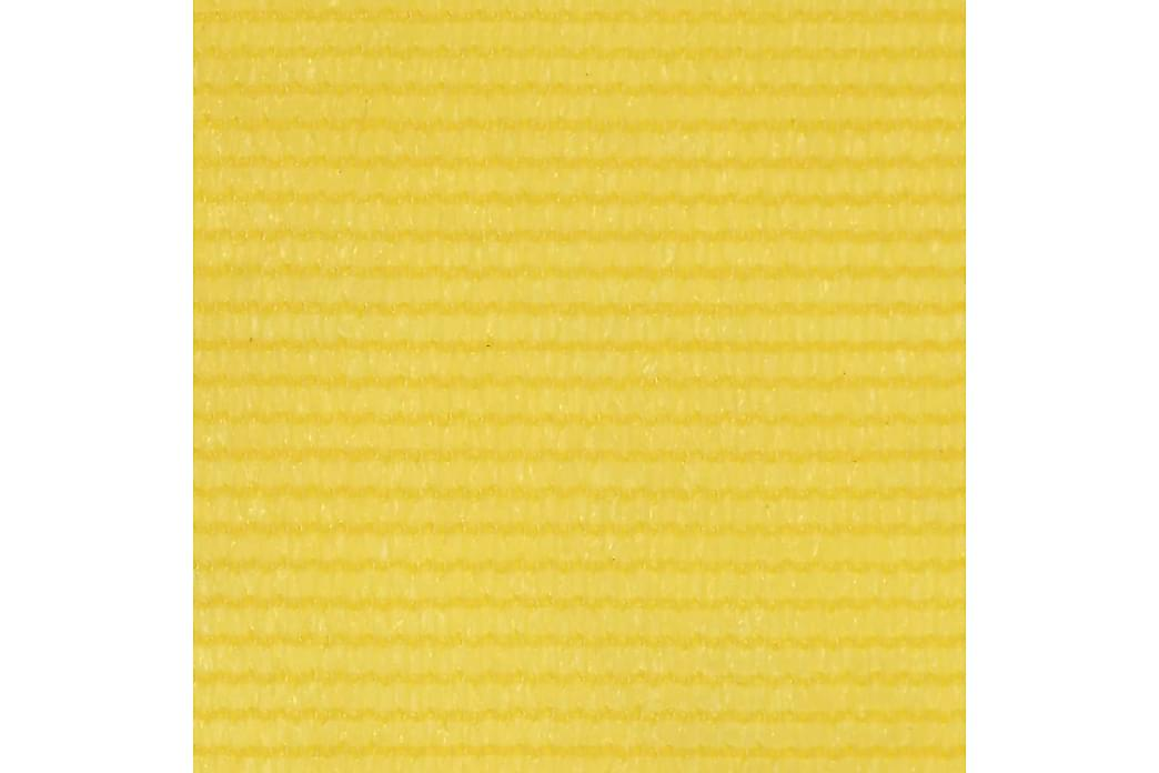 Parvekkeen suoja keltainen 120x500 cm HDPE - Keltainen - Puutarhakalusteet - Aurinkosuojat - Parvekesuojat