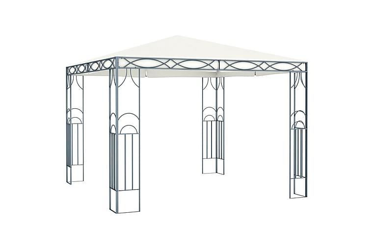 Huvimaja 300 x 300 cm kerma - Kerma - Puutarhakalusteet - Aurinkosuojat - Paviljongit