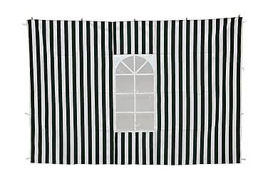 Paviljongin seinät Vihreä/Valkoinen