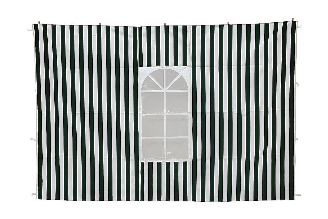 Paviljongin seinät Vihreä/Valkoinen - Puutarhakalusteet - Aurinkosuojat - Paviljongit