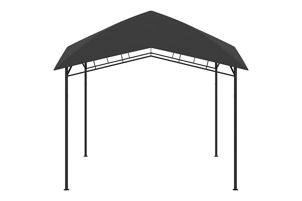 Puutarhan huvimaja 3x3x2,9 m antrasiitti 180 g/m² - Harmaa - Puutarhakalusteet - Aurinkosuojat - Paviljongit