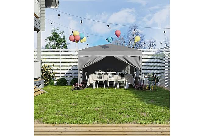 Pergola Songmics 300 cm - Puutarhakalusteet - Aurinkosuojat - Sermit ja tuulisuojat