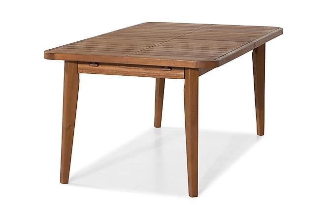 Ruokapöytä Greenland Jatkettava 180-220x100 cm - Luonnonväri - Puutarhakalusteet - Valitse materiaalin mukaan - Puu & tiikki