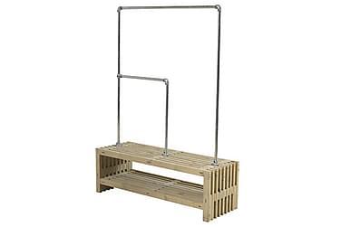 Rustik Kaappi rimoista Design 138x49x45 cm