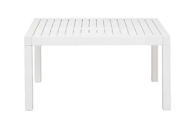 Sohvapöytä Gräddö 80 cm - Valkolakattu Akaasia - Puutarhakalusteet - Valitse materiaalin mukaan - Puu & tiikki