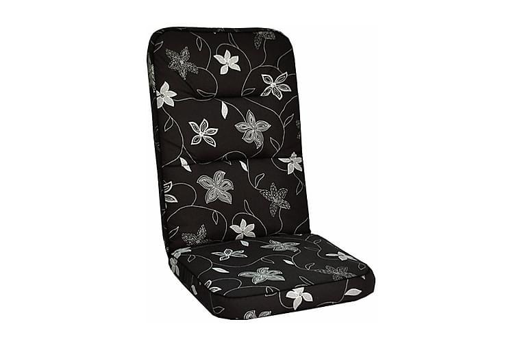 Högvik Woodline Istuinpehmuste - Deco Black - Puutarhakalusteet - Pehmusteet - Säätötuolin pehmusteet