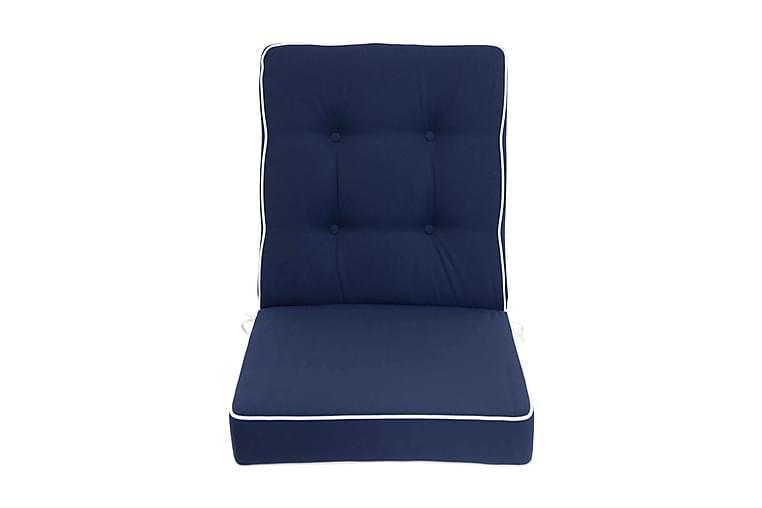 Istuinpehmuste Epupa - Sininen - Puutarhakalusteet - Pehmusteet - Säätötuolin pehmusteet