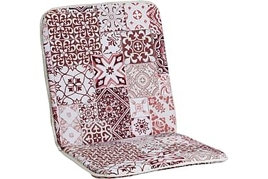 Lepotuolin istuinpehmuste Morocco Minivik Puna/valkoinen