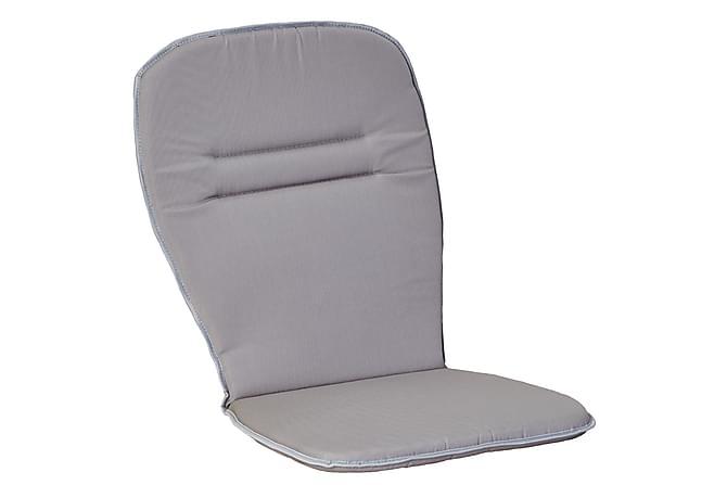Pinottavan tuolin istuinpehmuste Korkea Vaaleanharmaa - Puutarhakalusteet - Pehmusteet - Säätötuolin pehmusteet