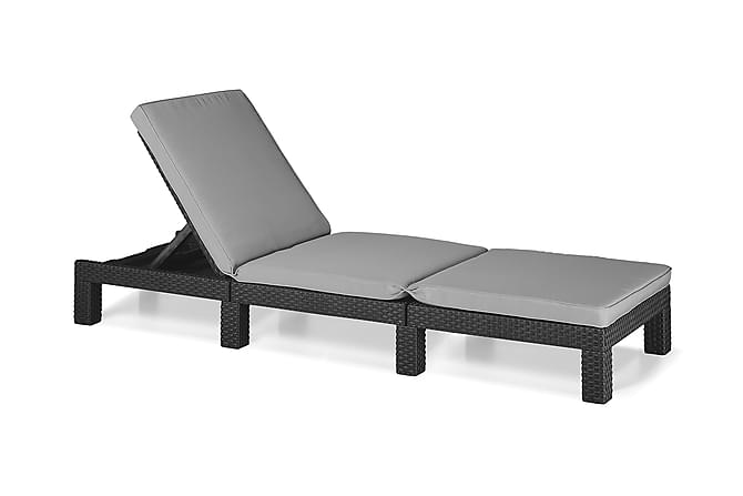 Aurinkosänky Daytona - sis. Pehmusteen - Puutarhakalusteet - Tuolit & nojatuolit - Aurinkosänky & aurinkovaunu