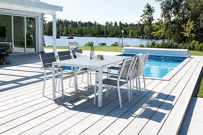 Karmituoli Konob - Valkoinen - Puutarhakalusteet - Tuolit & nojatuolit - Karmituolit