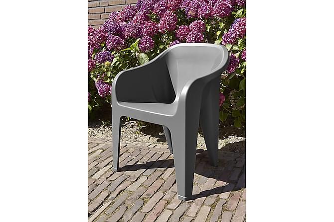 Tuoli Almeria - Grafiitti - Puutarhakalusteet - Tuolit & nojatuolit - Karmituolit
