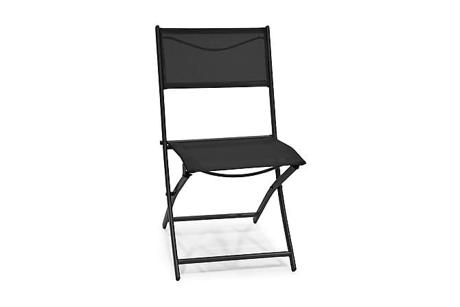 Taittotuoli Rannäs Musta - Puutarhakalusteet - Tuolit & nojatuolit - Parveketuolit & taittotuolit